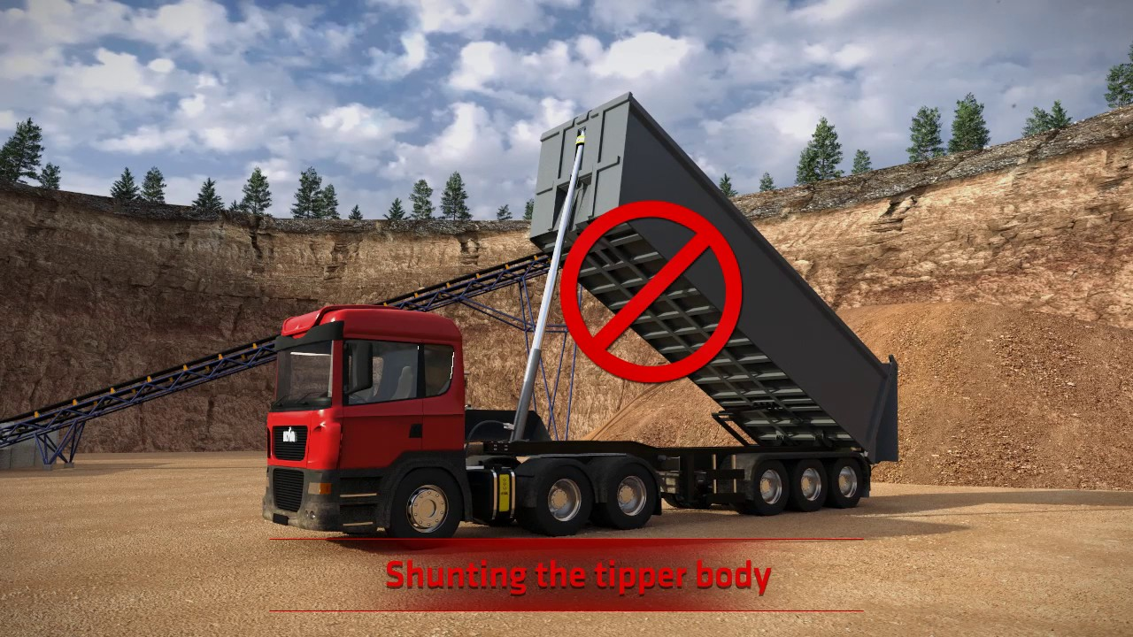 Download How to operate a tipper - avoid serious accidents