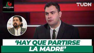 ¡FUERTES CRÍTICAS! Aldo Farías le dio con todo a Amaury Vergara y sus jugadores   TUDN