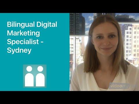 Bilingual Digital Marketing Specialist - Sydney