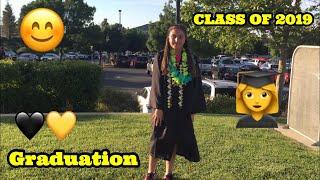 I GRADUATED  CLASS OF 2019  || Graduation Vlog + GRWM || Arezo Ahmadi