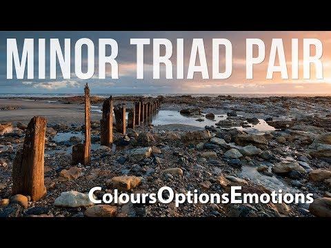 Minor Triad Pair Options| Emotions| Colours| for Improvisation