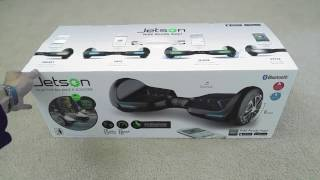 Unboxing Latest Release Jetson V6 All Apple IOS & Android Smart Bluetooth Hoverboard Scooter 2016