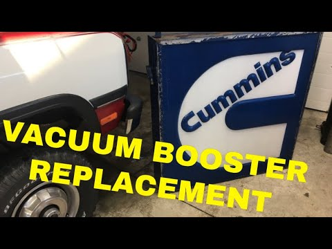 1st Gen Cummins Brake Booster Replacement