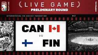 Canada - Finland | Live | Group B | 2021 IIHF Ice Hockey World Championship