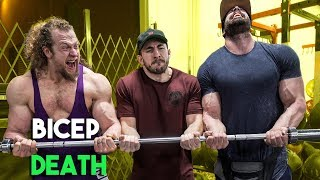 Juji Challenged Bradley Martyn and Silent Mike to ARMS GAUNTLET