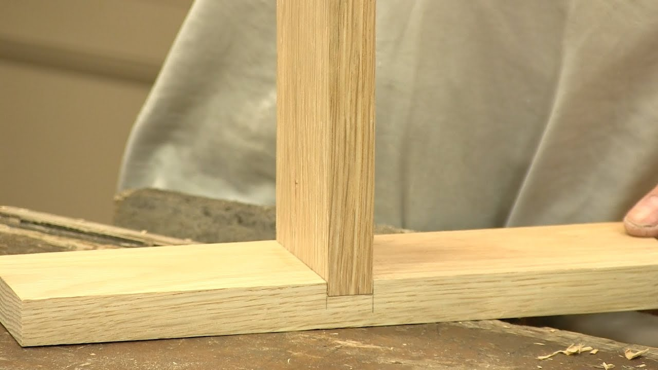 How To Make A Housing Dado Joint The Three Joints Paul Sellers