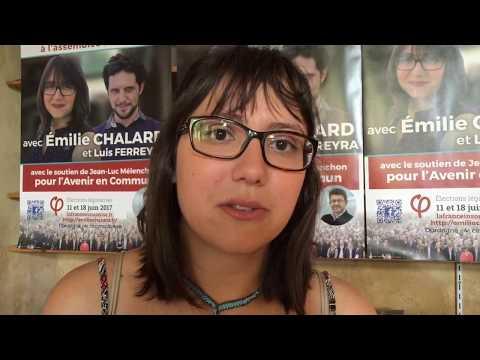 Emilie Chalard Législatives 2017