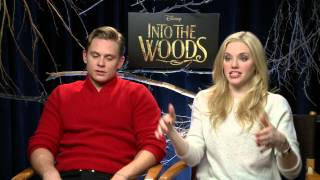 Into the woods with Prince Charming and Princess Rapunzel
