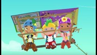 Джейк и пираты Нетландии - все серии подряд (Сезон 1 Серии 4, 5, 6) l Мультфильм для детей