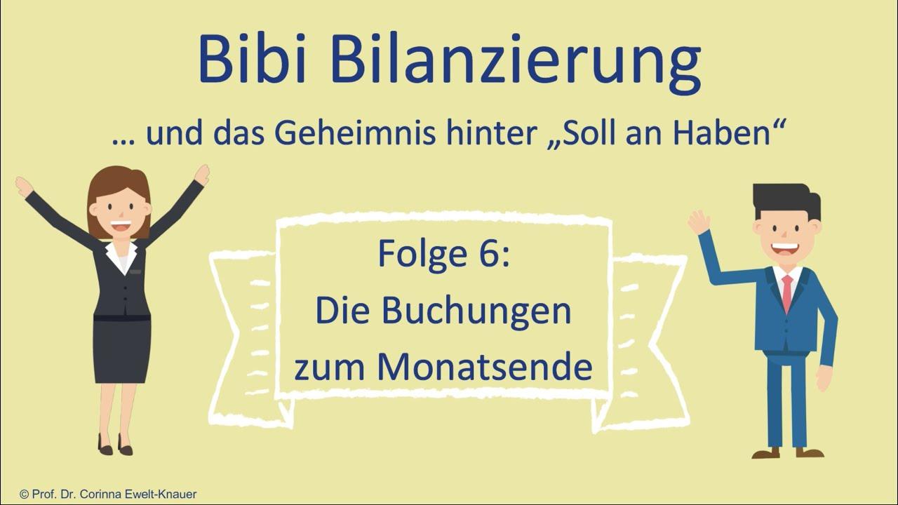 Download Bibi Bilanzierung   Folge 6   Die Buchungen zum Monatsende