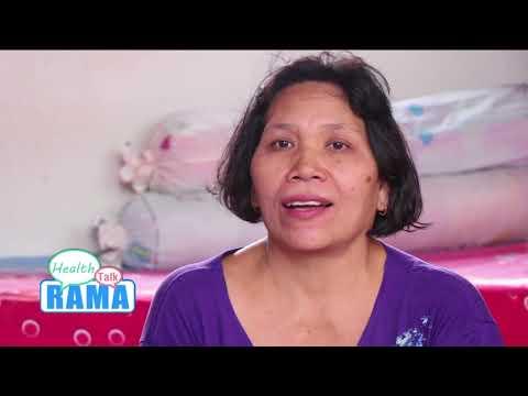 """การดูแลผู้ป่วย""""มะเร็งลำไส้ส่วนปลาย""""หายได้จากคนใกล้ตัว : พบหมอรามาช่วงRama Health Talk 7 มิ.ย.61(5/7)"""