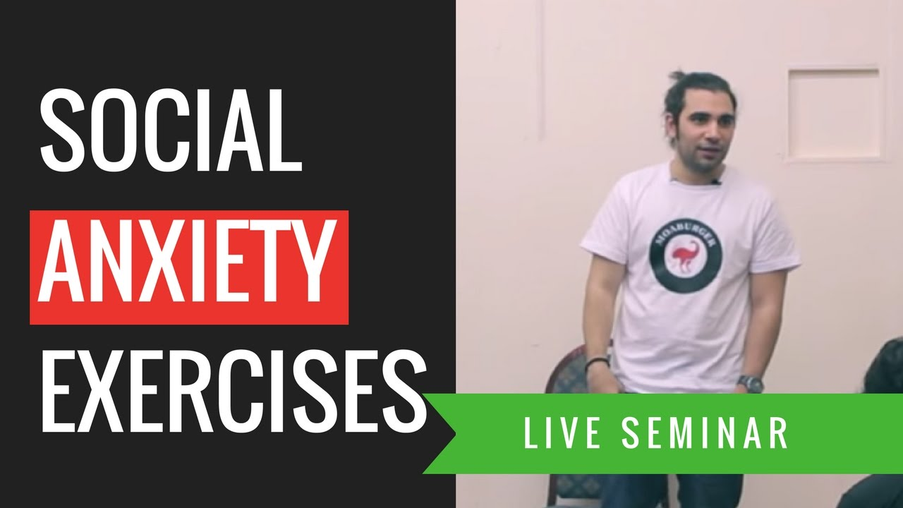 exercises to overcome social anxiety