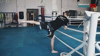 Как научиться бить вертушки / Техника ударов ногами с разворота