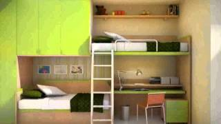 Bunk Bed With Shelves  New Design