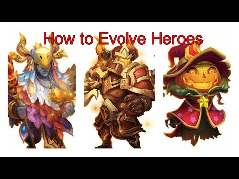 Castle Clash How To Evolve Heroes