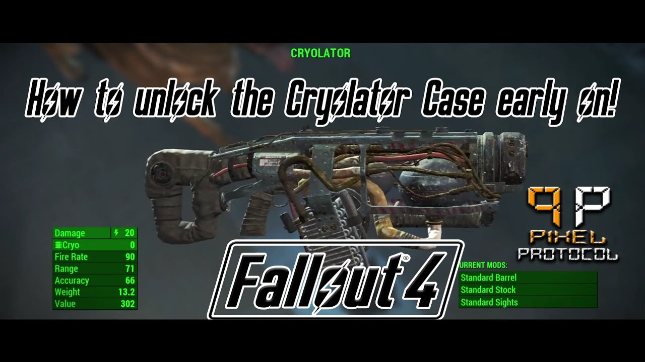 how to get dogmeat to unlock cryolator case
