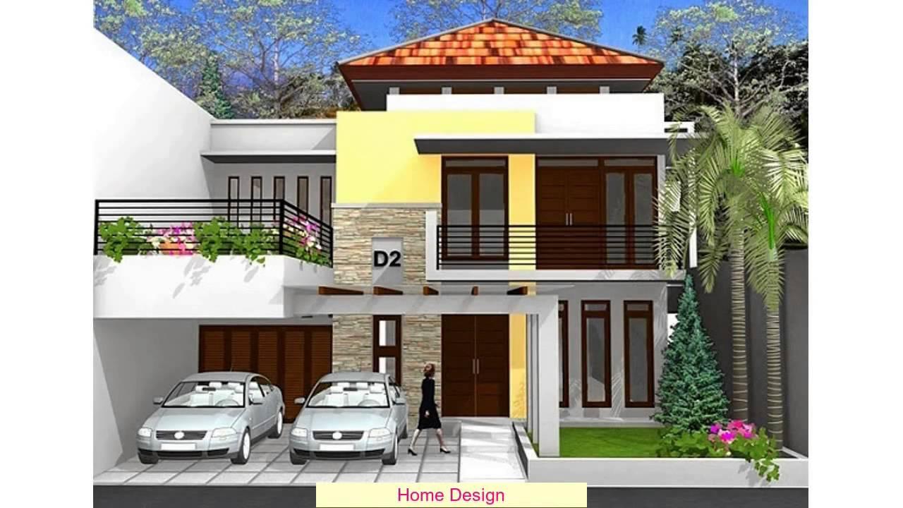 Desain Rumah Tingkat 3x9
