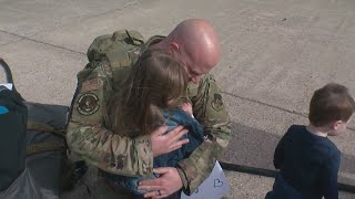 Minnesota National Guard Members Reunite With Families In St. Paul