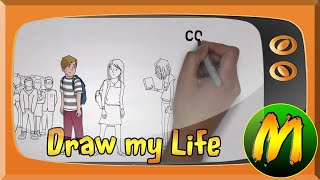 Draw My Life ✎ Estib Vhen (MegaToon TV)
