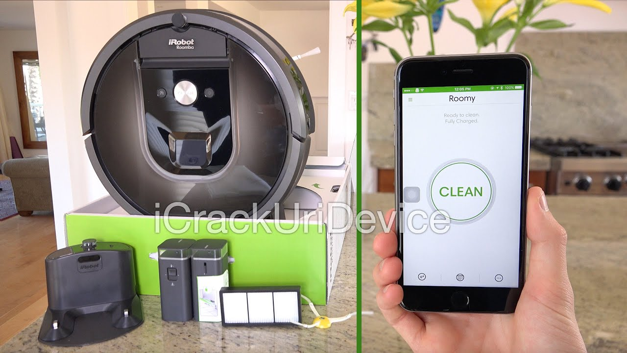 Roomba 980 Vacuum Irobot Unboxing And Setup Review