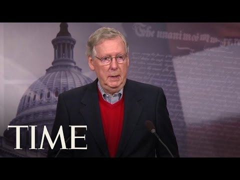 Mitch McConnell Condemns Russian Interference In 2016 Election | TIME