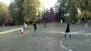 Mecz SYNOWIE vs. OJCOWIE - Nowa Cerkiew 2014