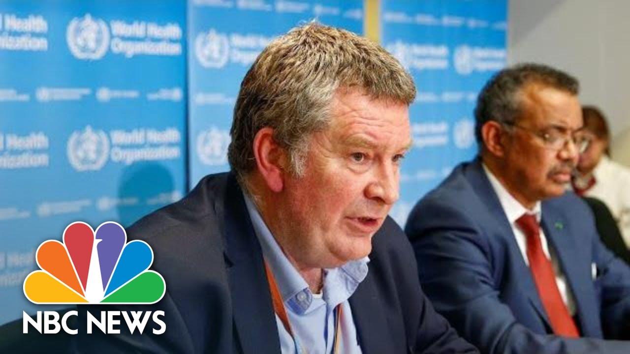 World Health Organization Provides Update On Coronavirus | NBC News (Live Stream)