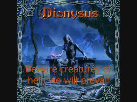 Dionysus - Holy war [Lyrics]