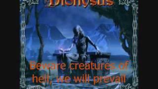 Dionysus - Holy war [Lyrics]