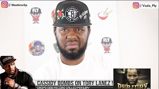 CASSIDY BOMBS ON TORY LANEZ ON NEW PERJURY DISS RECORD OVER STOLEN BARS + MY REACTION 😳🔥❗️