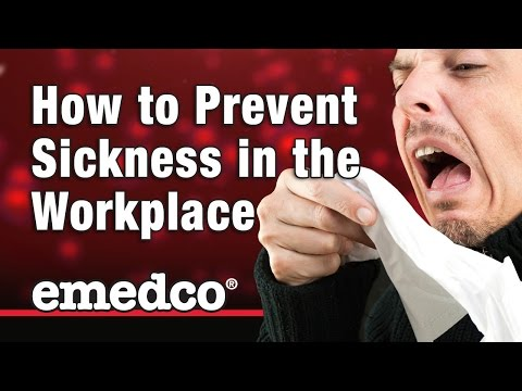 8 Steps to Help Prevent the Spread of Sickness at Work | Emedco Video