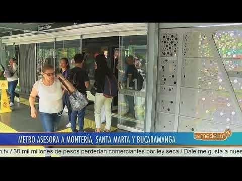El Metro asesora a Monetería, Santa Marta y Bucaramanga [Noticias] - Telemedellín