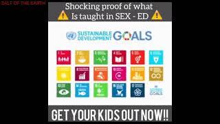 WARNING! GRAPHIC, MANDATORY, DISTURBING SEX ED CLASSES FOR CHILDREN IN PUBLIC SCHOOL!