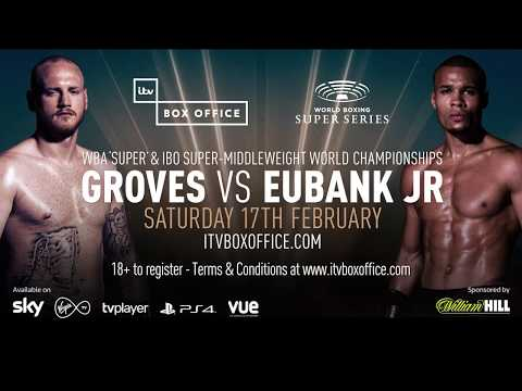 Chris Eubank Jr speaks ahead of Saturday's World Boxing Super Series semi-final with George Groves