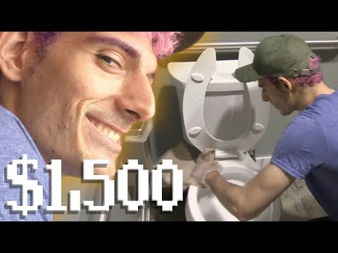 WORKING JOB FOR CHARITY ($1,500 RAISED)