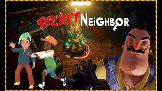 TEK BAŞIMA KAZANDIM! | Secret Neighbor (MULTIPLAYER) - Pre Alpha 4