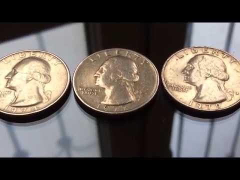 20000$$$ Rare and Error Quarter US Coins Collection 1974.1977.1979 Centavo Coins Numismatics