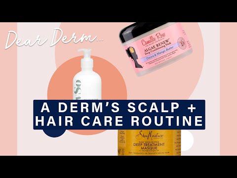 A Dermatologist's Scalp and Hair Care Routine | Dear Derm | Well+Good