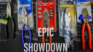Knipex and Klein vs Harbor Freight Doyle, Quinn, and Pittsburgh