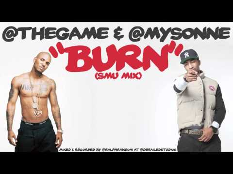 The Game and Mysonne - Burn Freestyle - New Hip Hop Song - Rap Video