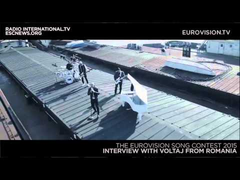 Eurovision 2015: Interview with Voltaj from Romania