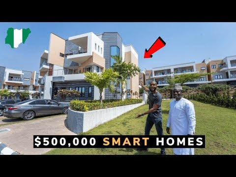 I Toured the Most Luxurious Estate in Abuja Nigeria!