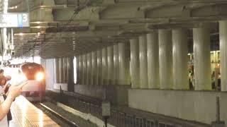常磐線E657系特急ときわ80号品川行北千住駅通過
