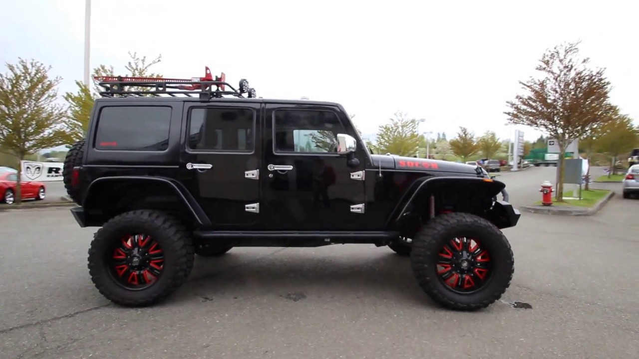 Jeep Wrangler JK Roof Racks for off road and travel - YouTube