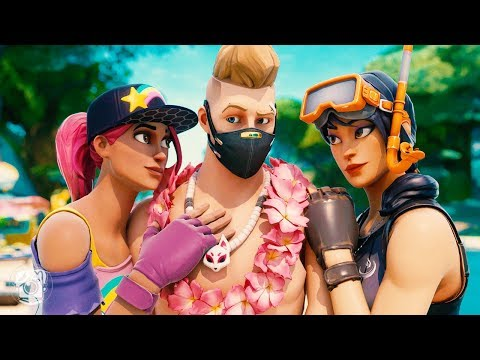 ALL THE GIRLS WANT TO KISS SUMMER DRIFT! *SEASON 9* (A Fortnite Short Film)