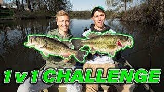 INSANE Urban Pond Fishing — (Sub VS. Youtuber Challenge)