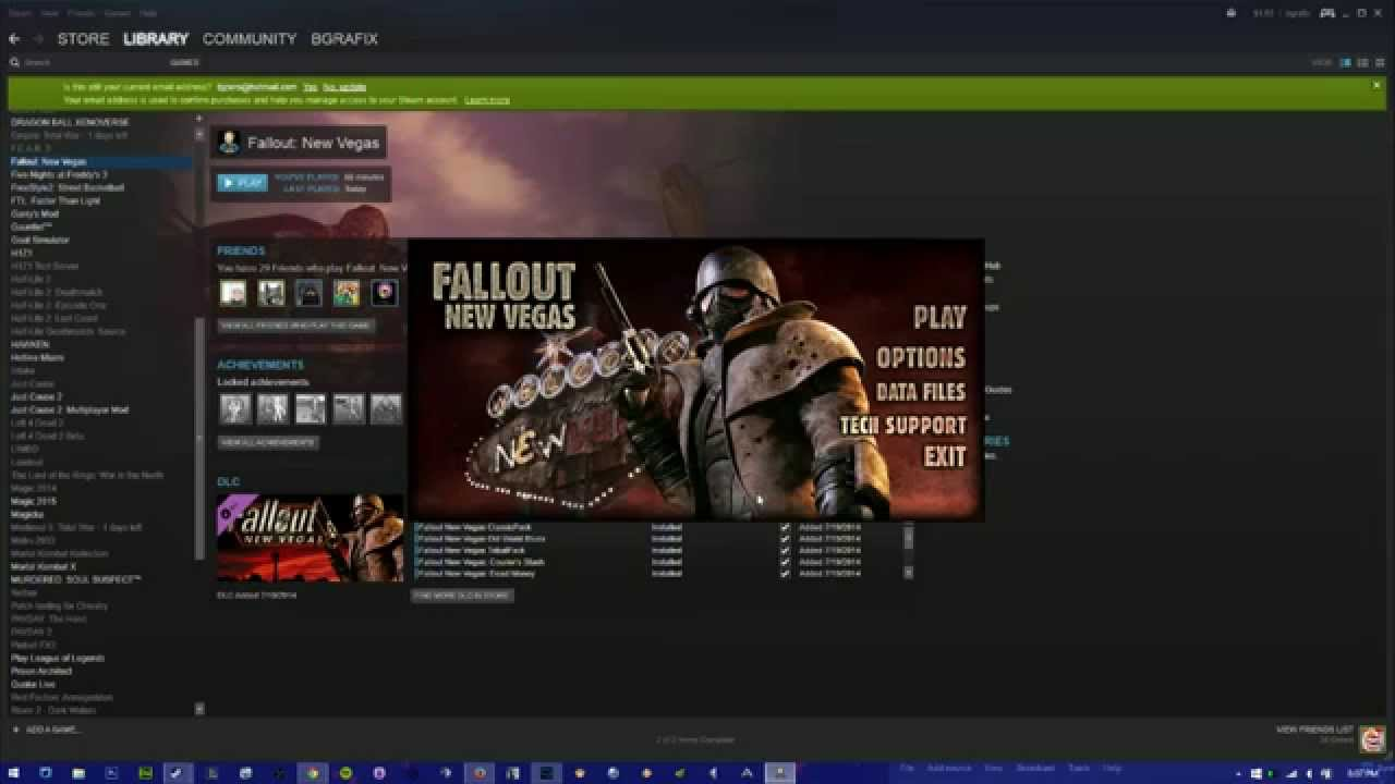 Fixed Fallout New Vegas Ultimate Wont Open It Just Crash Youtube