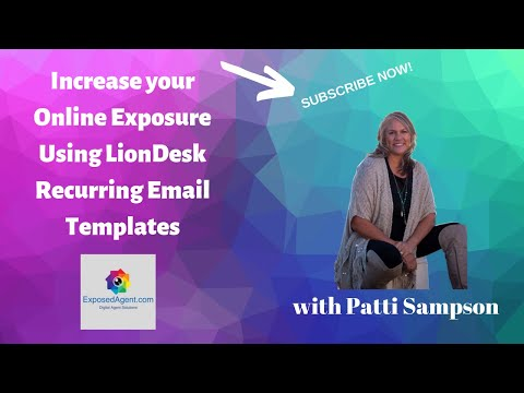 How to use LionDesk CRM Recurring Email & Drive People to your Website