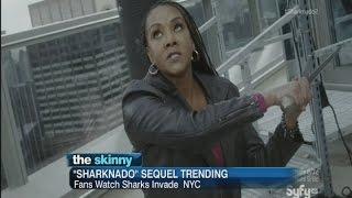 "SKINNY: ""Sharknado 2 Blows Up Twitter"""