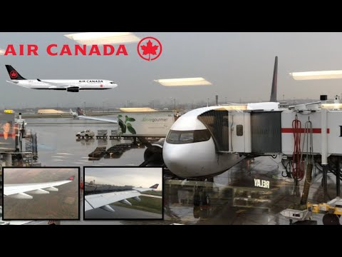 NEW LIVERY! Air Canada A330-300 Montreal to Toronto